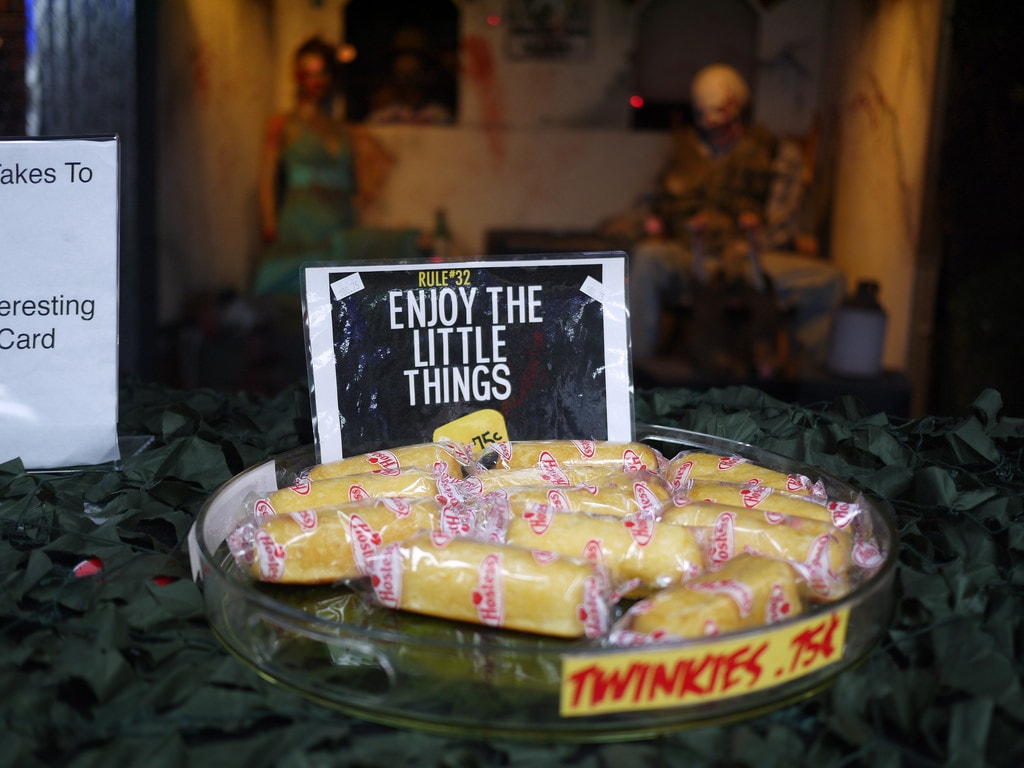 Get attacked by the Zombies at the Zombie Apocalypse Store