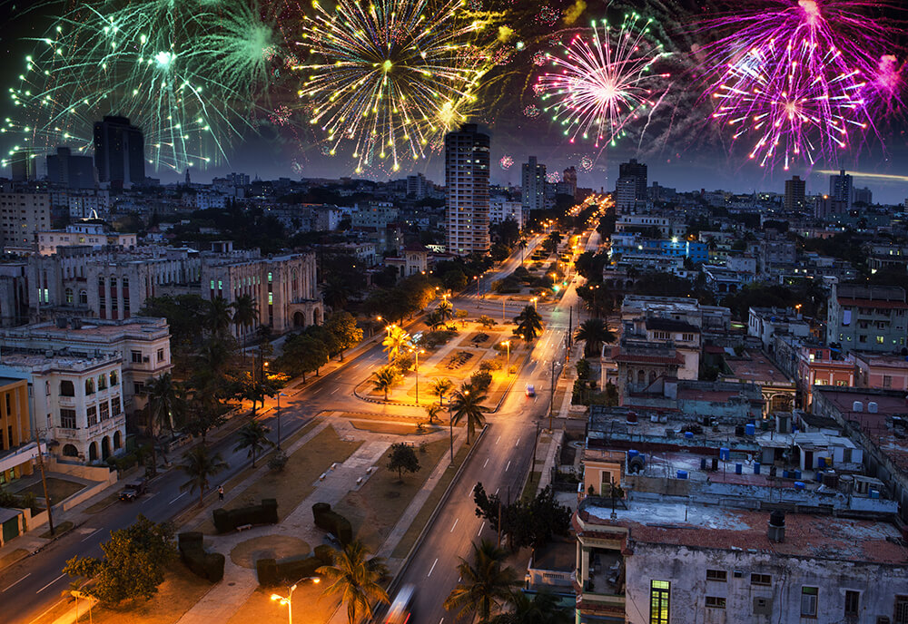 New Year Eve in London 2020 Cuba