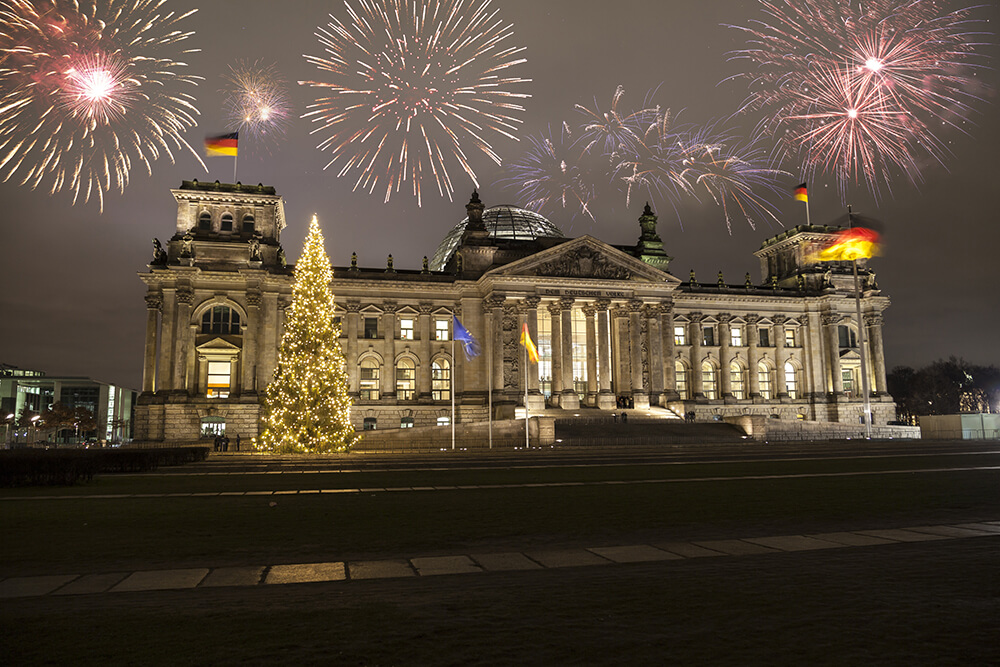 New Year Eve in London 2020 Germany