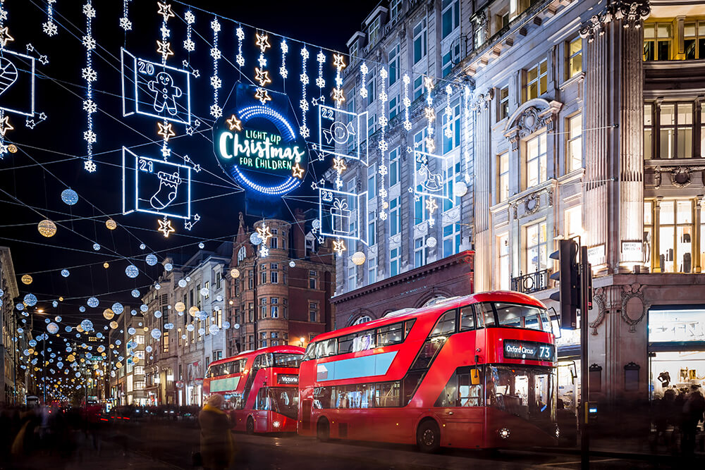 Christmas shopping hotspots