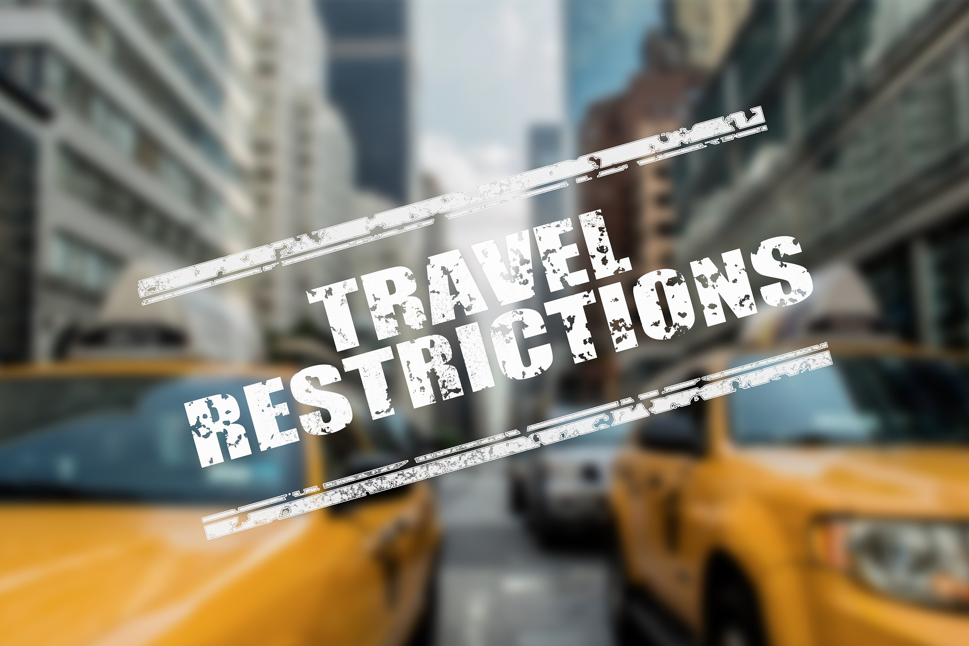 travel restrictions, no entry, closed border, strict, lockdown, quarantine, coronavirus, covid-19, travelling, domestic travel, SOPs, facemask, hand sanitizer, taxi, New York City, UK, USA, London, Travel Agency