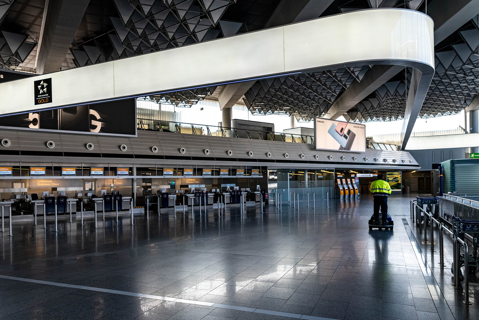 Empty airports, Coronavirus, covid-19, virus. pandemic, global pandemic, travel, travel ban, travel restriction, closed borders, travel deals, holidays, lockdown, UK, USA