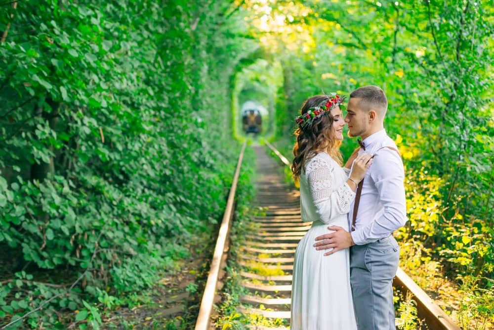 Tunnel of Love, Ukraine, Eastern Europe, Train Track, Tunnel, Love, Magnificent place, romantic trip, honeymoon, Photography, landscape, love, Klevan, Orzhiv, Forests, unbelievable places to visit