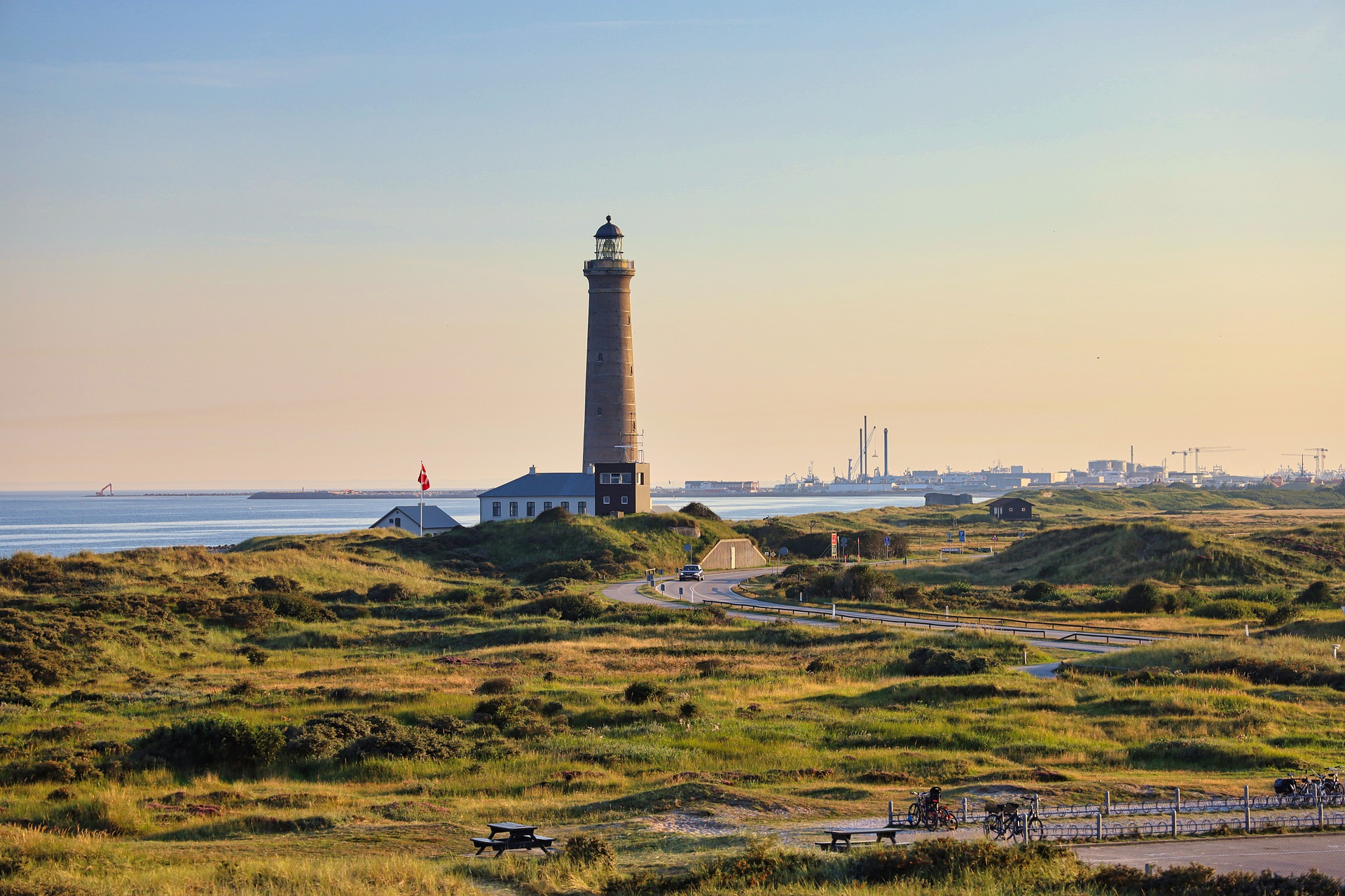 How can you visit Denmark?